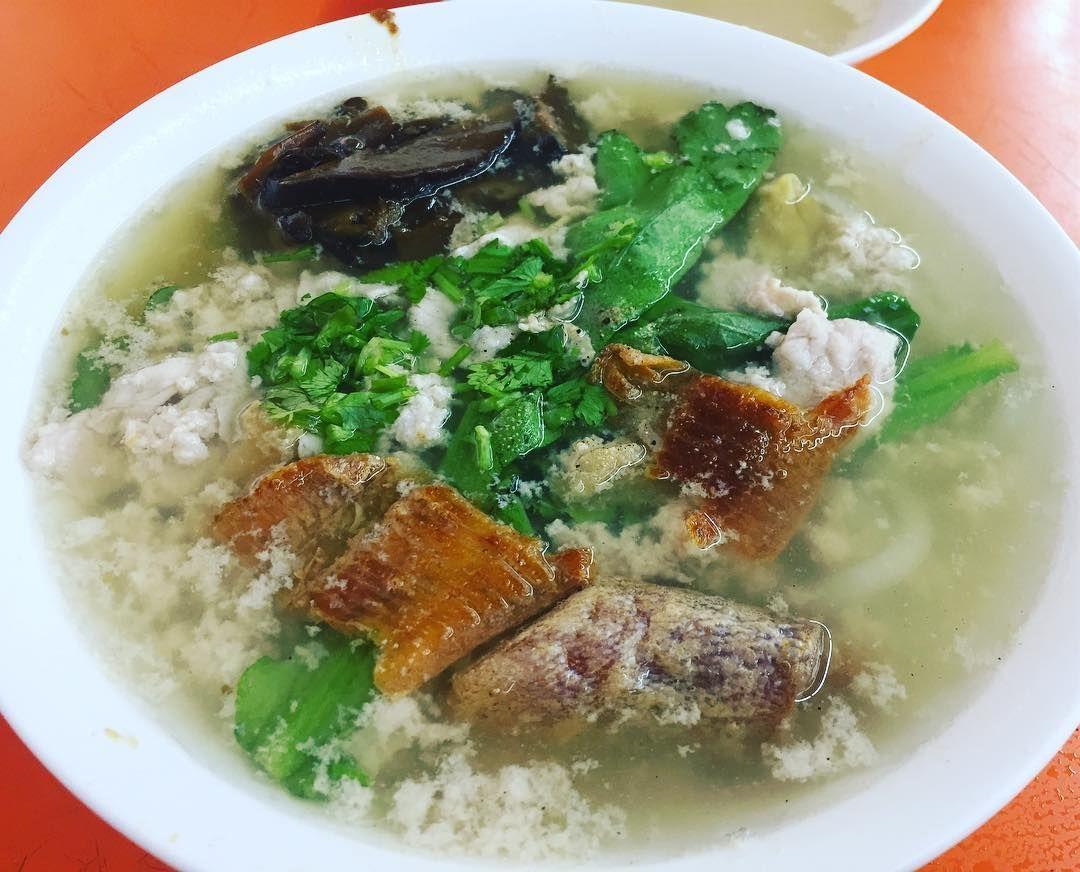 Soup Bak Chor Mee - Ah Kow Mushroom Minced Pork Mee