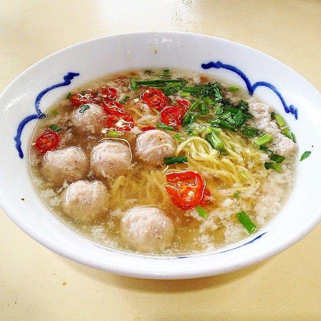 Soup Bak Chor Mee - Ah Poh Minced Meat Noodle