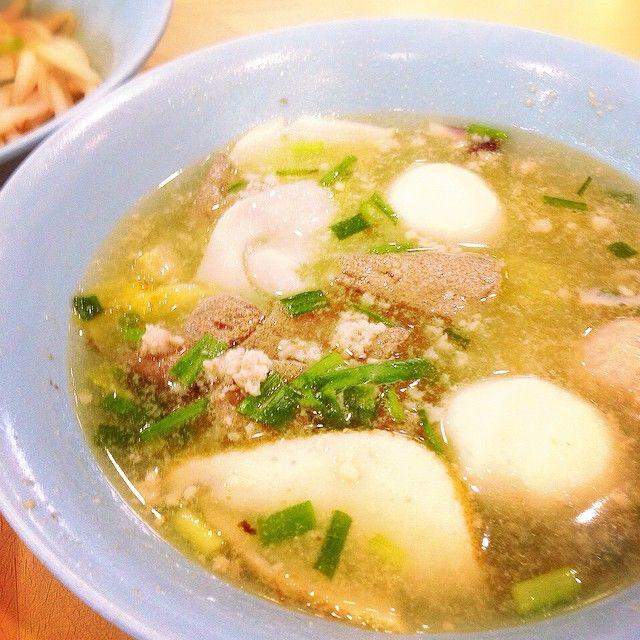 Soup Bak Chor Mee - Ah Ter Teochew Fishball Noodles