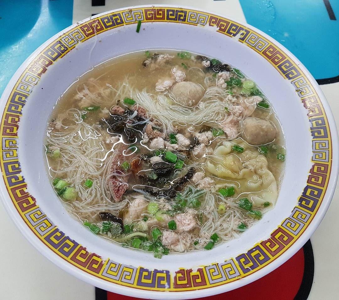 Soup Bak Chor Mee - Hill Street Tai Hwa Pork Noodle