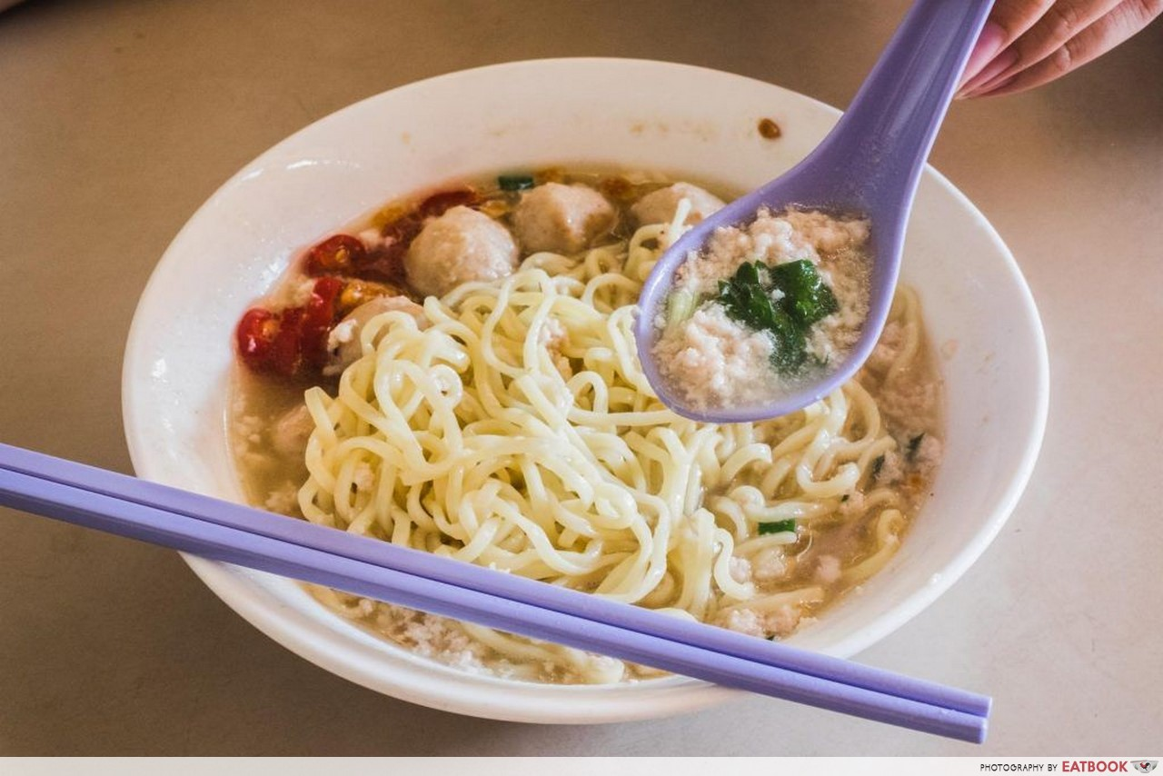 Soup Bak Chor Mee - Seng Hiang Bak Chor Mee