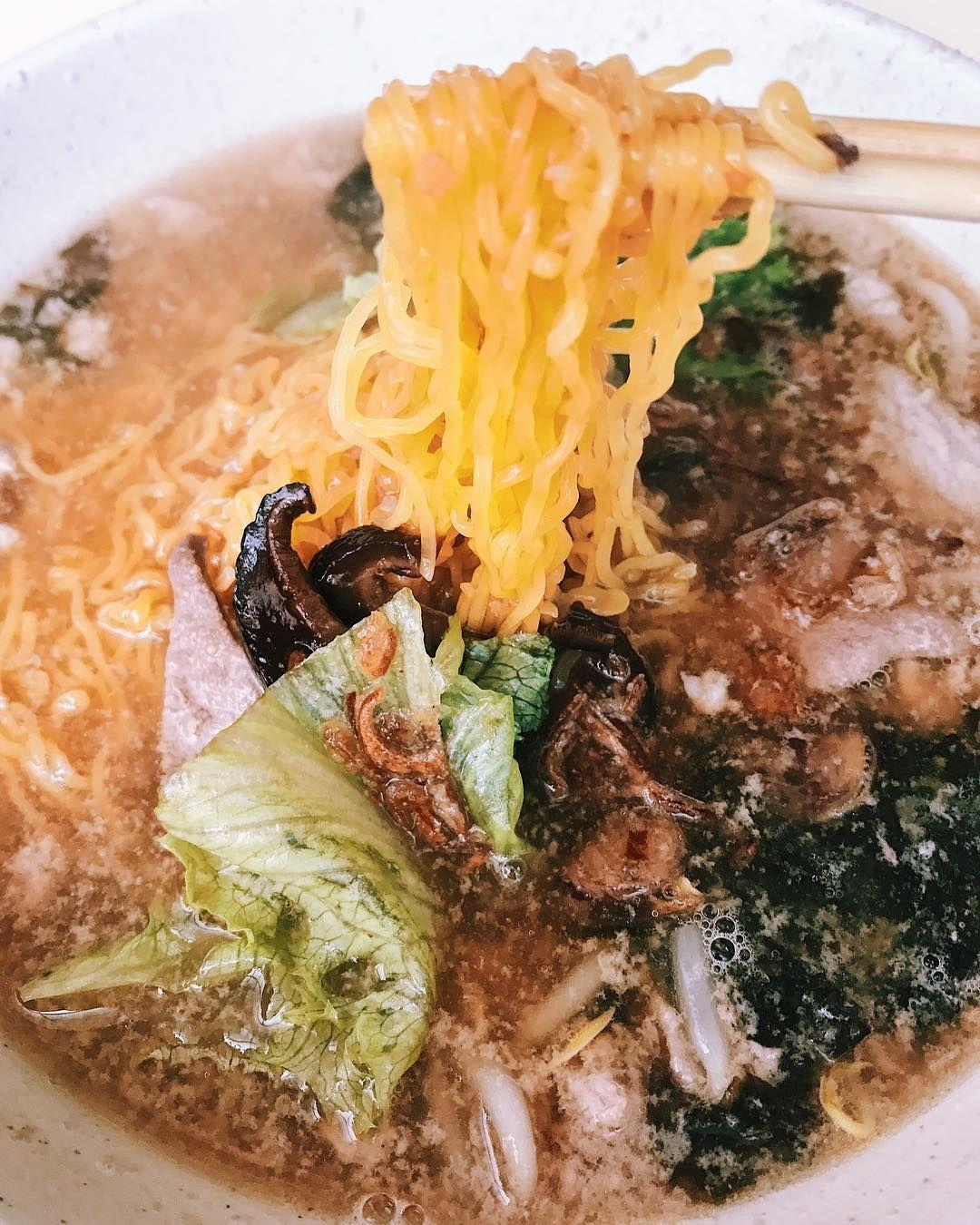Soup Bak Chor Mee - Seng Kee Mushroom Minced Pork Noodle