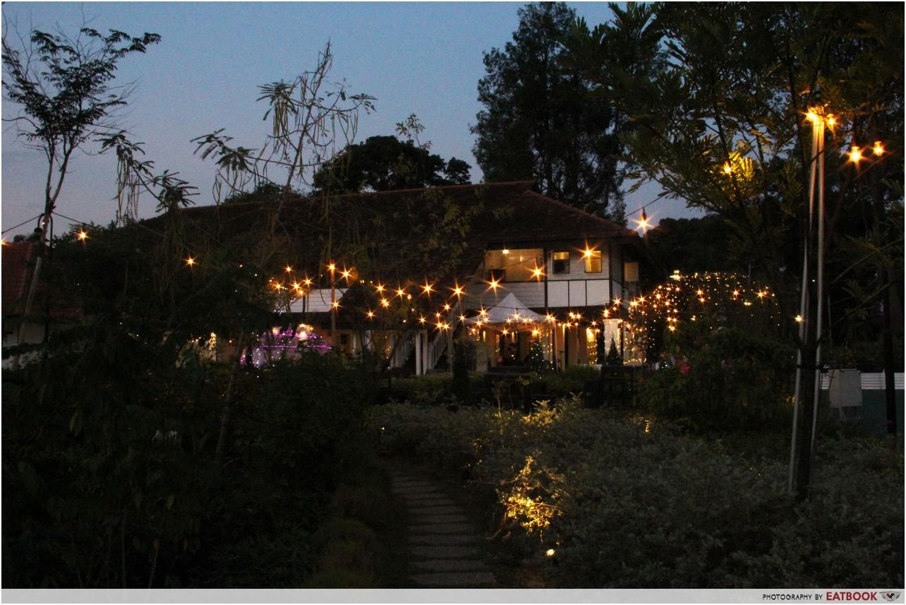 The Summerhouse - night
