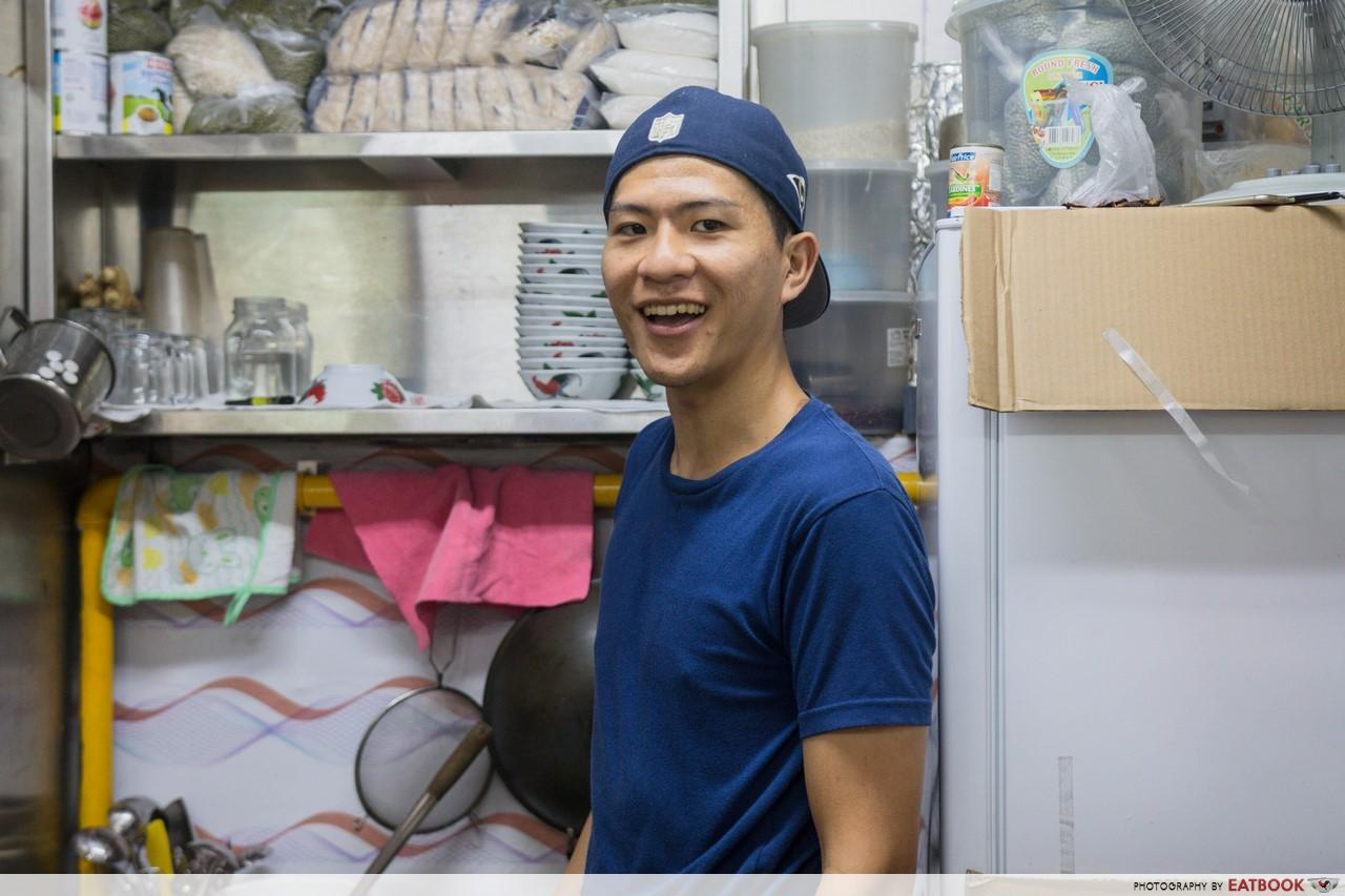 Thong Sum - tai yang smiling