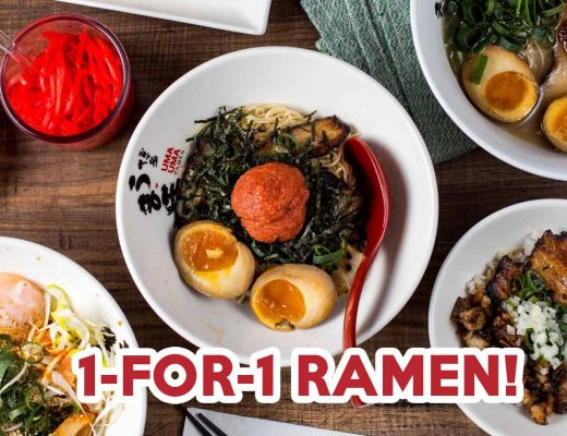 Uma Uma Forum 1-for-1 ramen