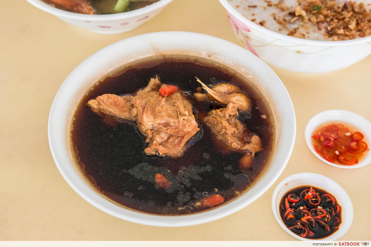 Xian Jin Mixed Vegetable Rice - Bak Kut Teh
