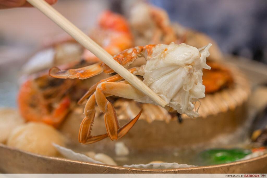 Y cube mookata - crab