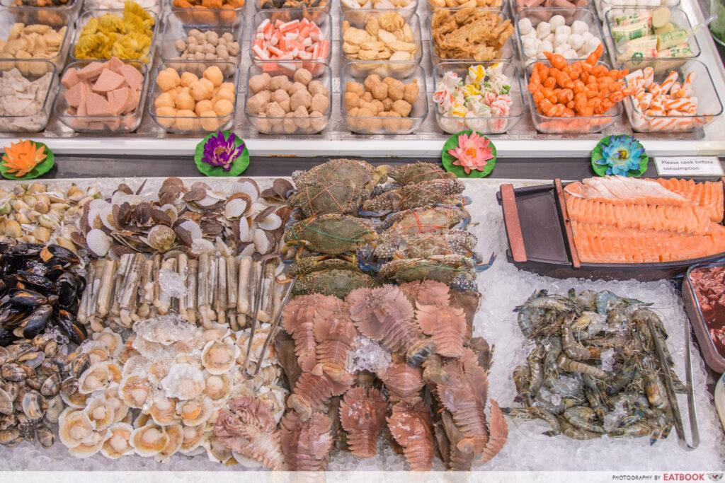 Y cube mookata - seafood