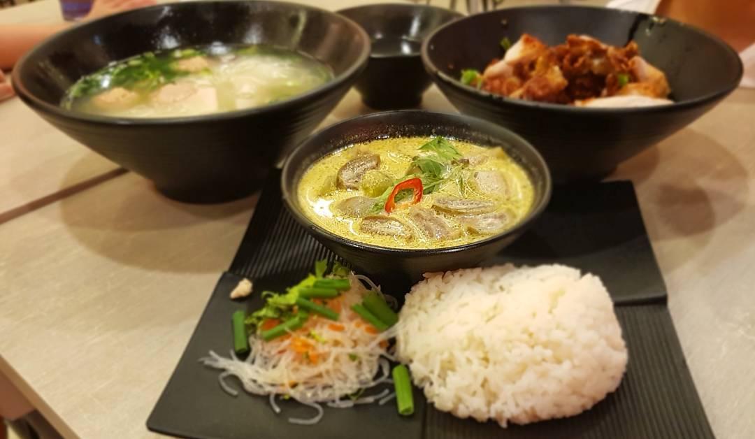 halal thai food - saap saap thai