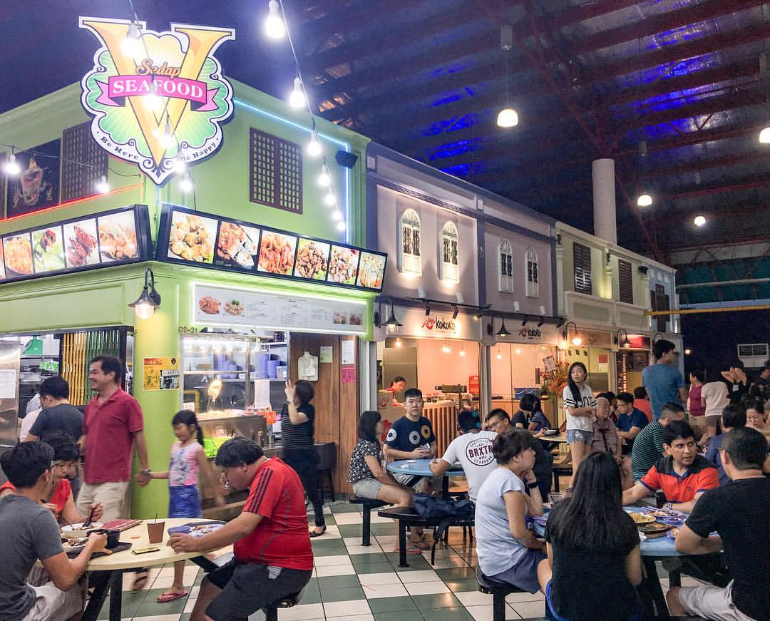 hipster hawker centres - bedok marketplace