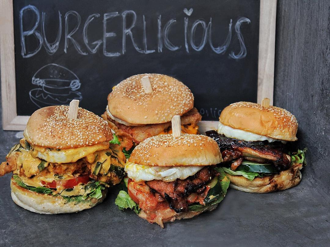 hipster hawker centres - burgerlicious