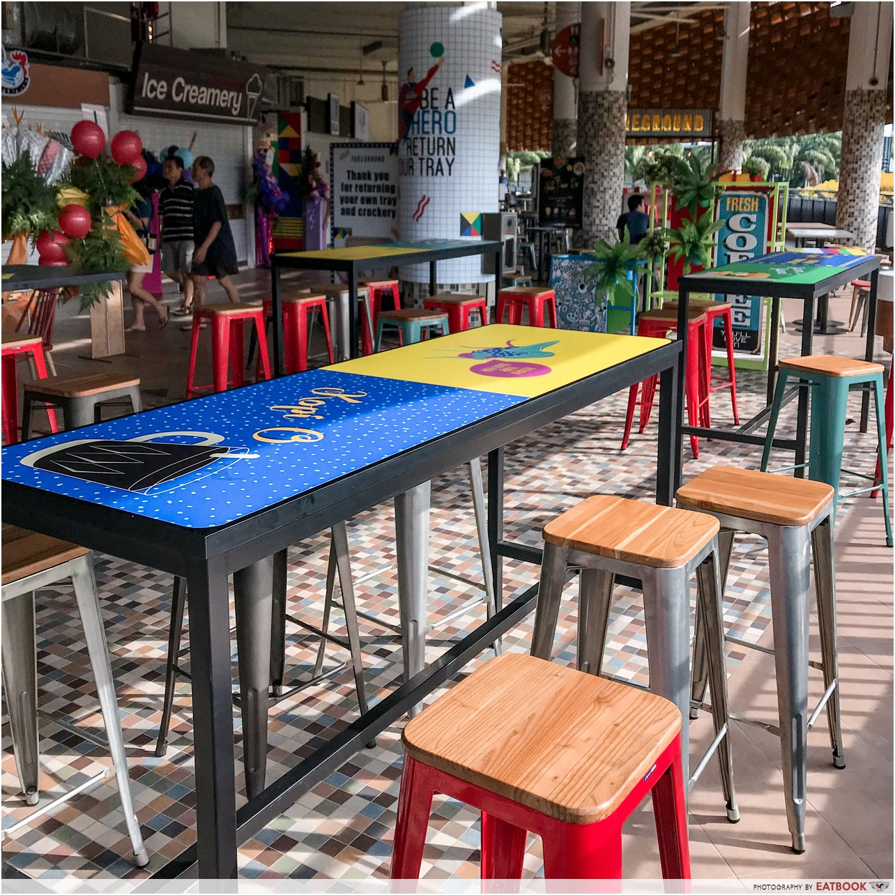 hipster hawker centres - fareground
