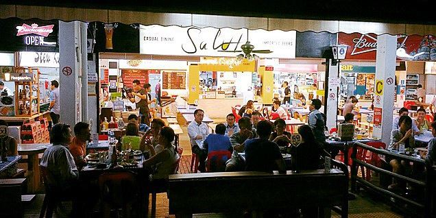hipster hawker centres - salute