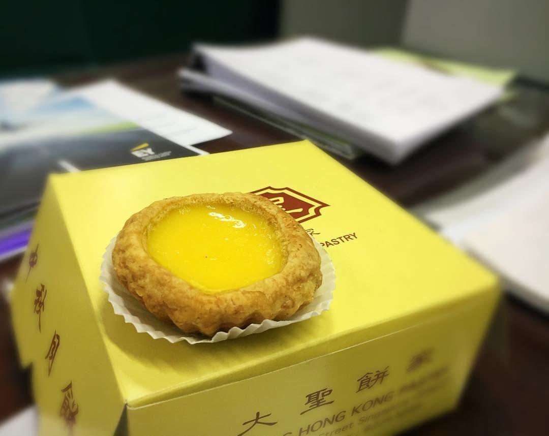 old-school egg tarts - Da Sheng Hong Kong Pastry