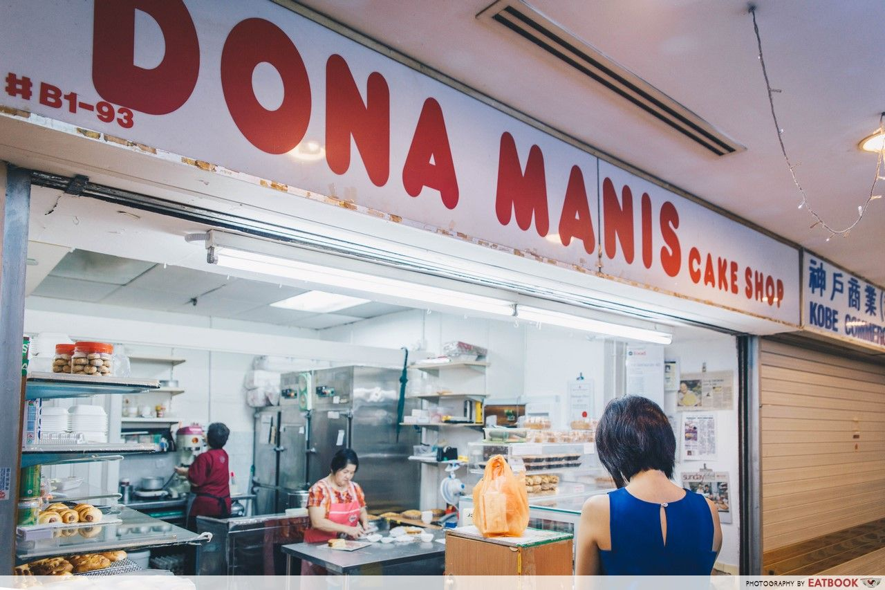 old-school egg tarts - Dona Manis Cake Shop