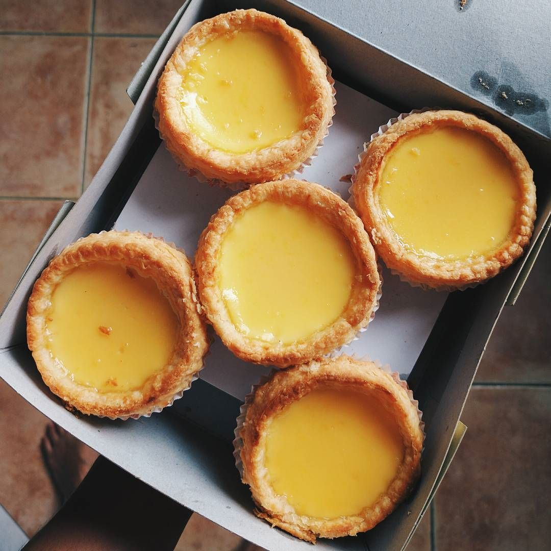 old-school egg tarts - Leung Sang Hong Kong Pastries