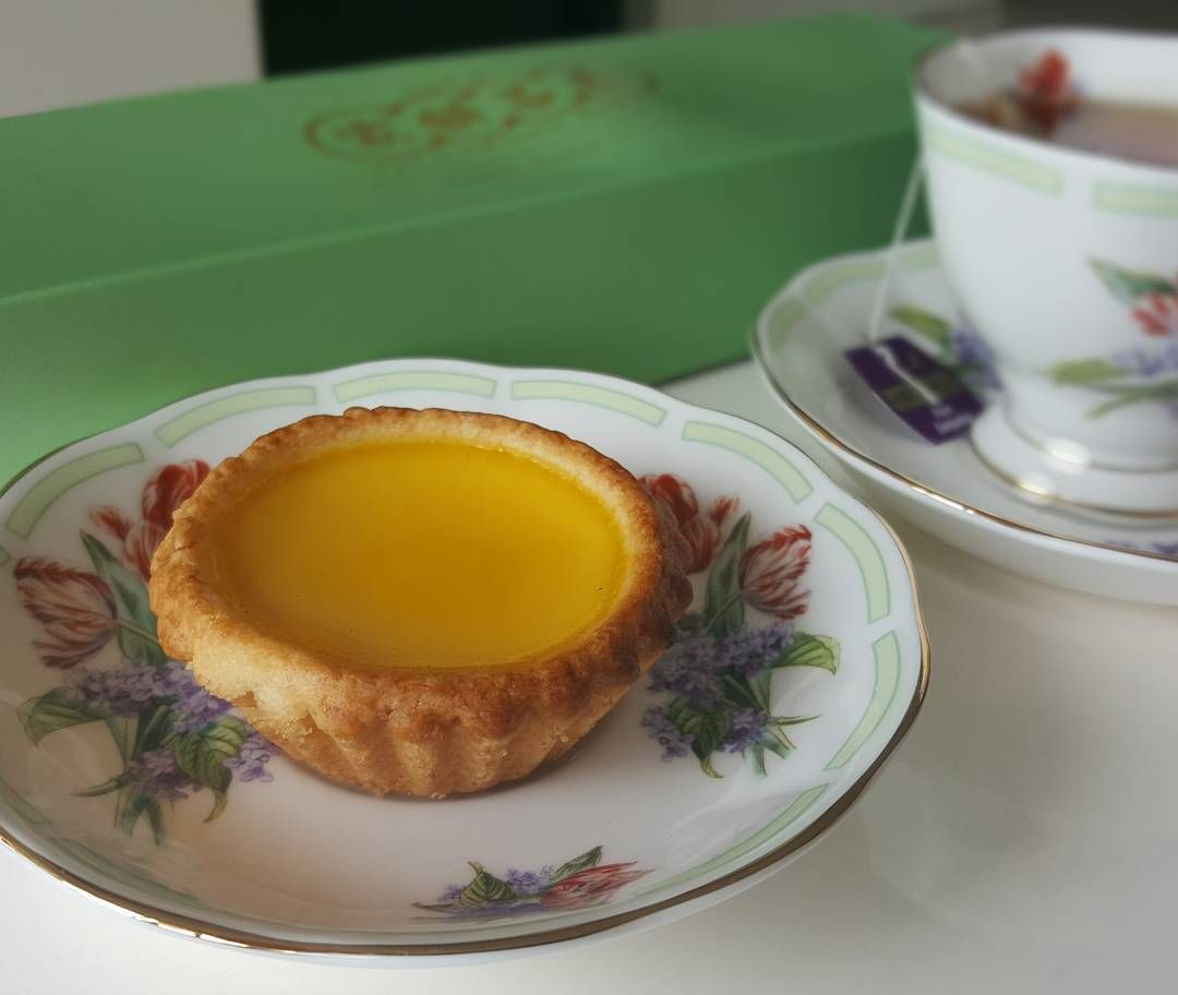 old-school egg tarts - Tai Cheong Bakery