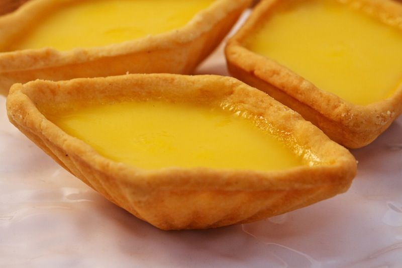 old-school egg tarts - Tai Chong Kok