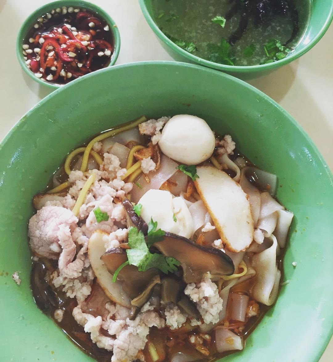 pek kio food centre - Bak Chor Mee
