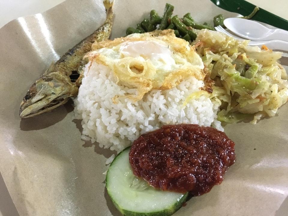 pek kio food centre - Nasi Lemak