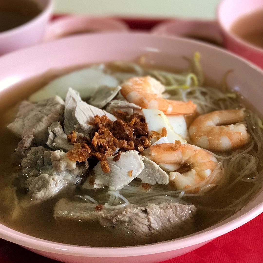 pek kio food centre - Prawn Noodles