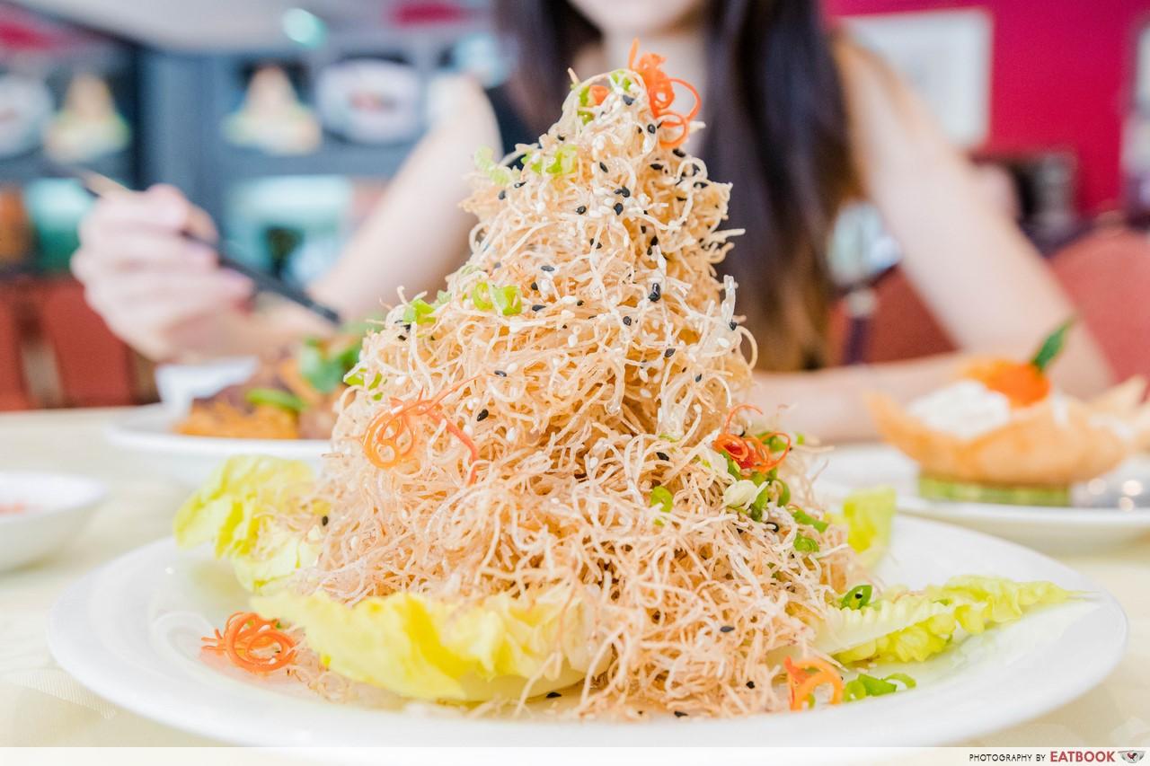 tonny restaurant - Crispy Yam with Truffle Oil