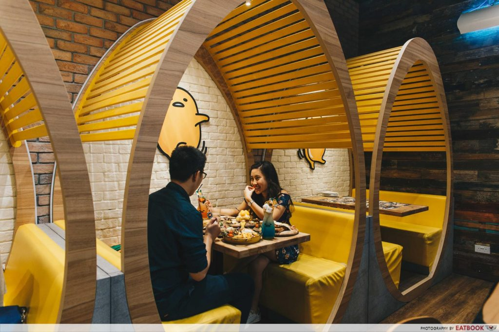 valentines day suntec city (11) - Gudetama Cafe Singapore