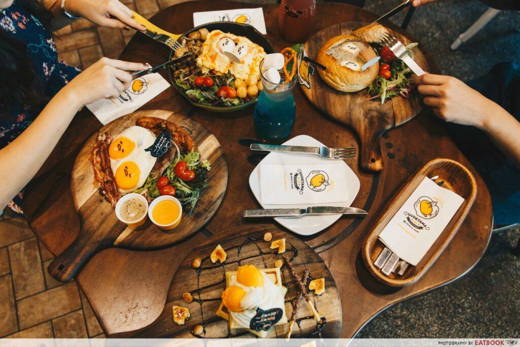 valentines day suntec city (5) - Gudetama Cafe Singapore food