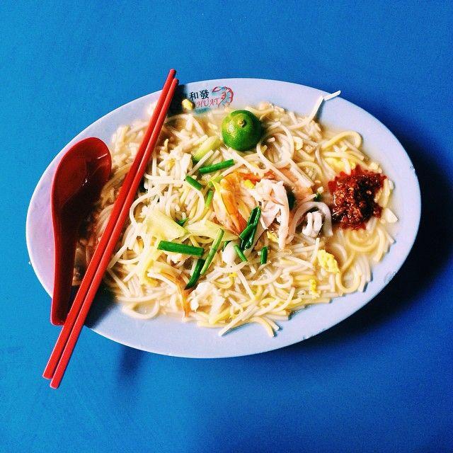Boon Lay Place Food Village - Ho Huat Fried Hokkien Prawn Mee