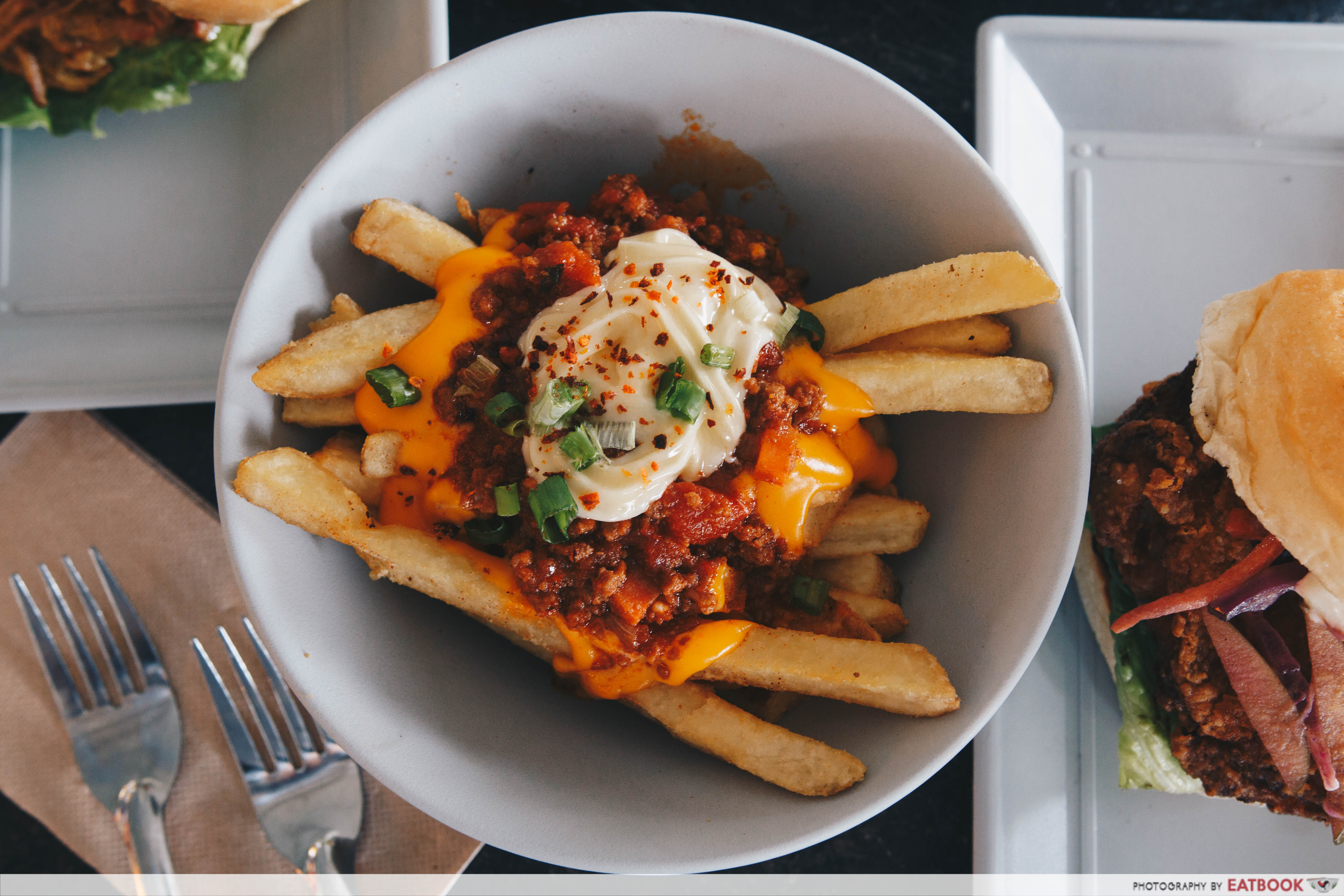 Burgernomics - Chilli Cheesy Beef Fries