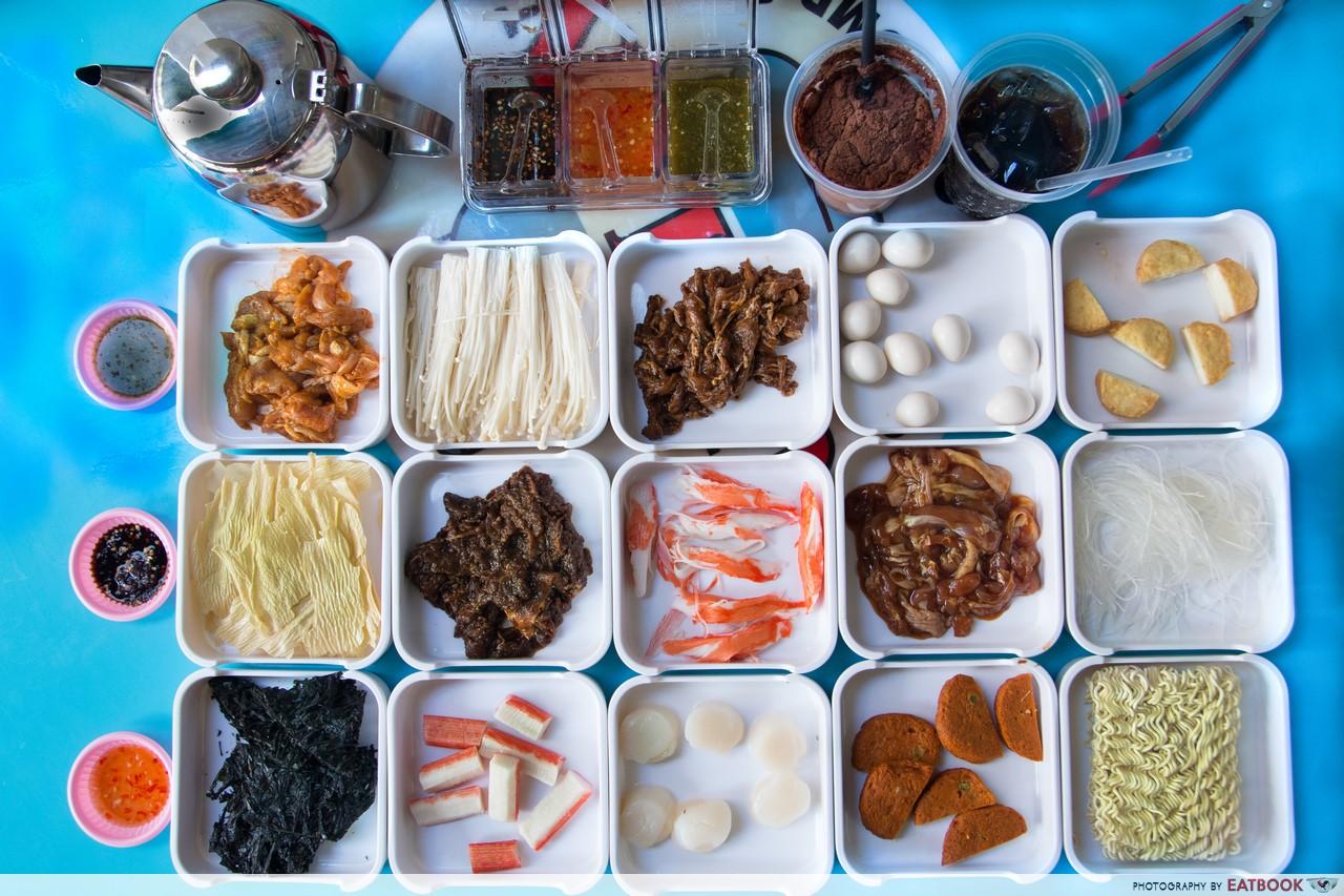 Chickata - Flatlay of ingredients