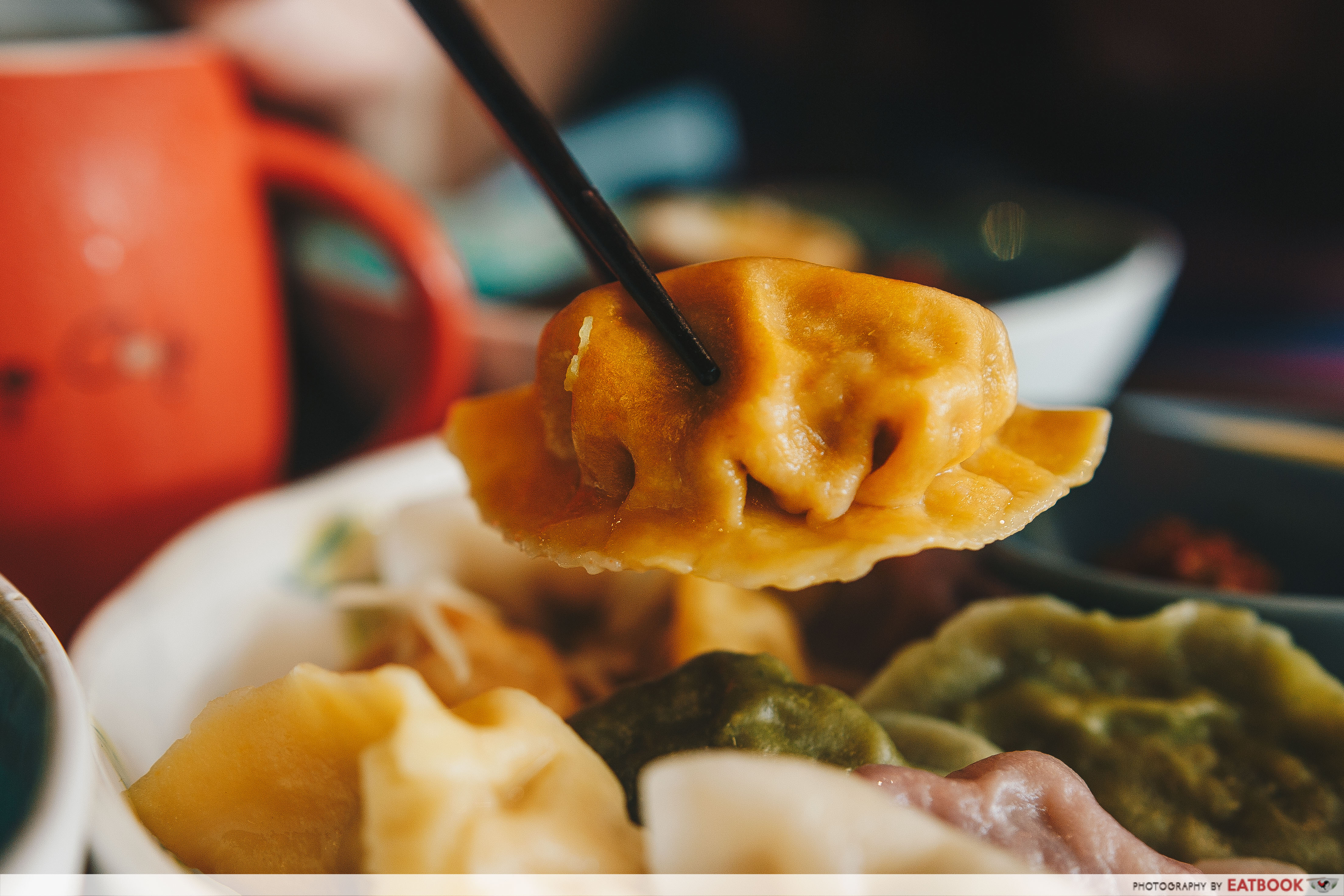 Dumplings Cafe - Orange Dumpling Whole