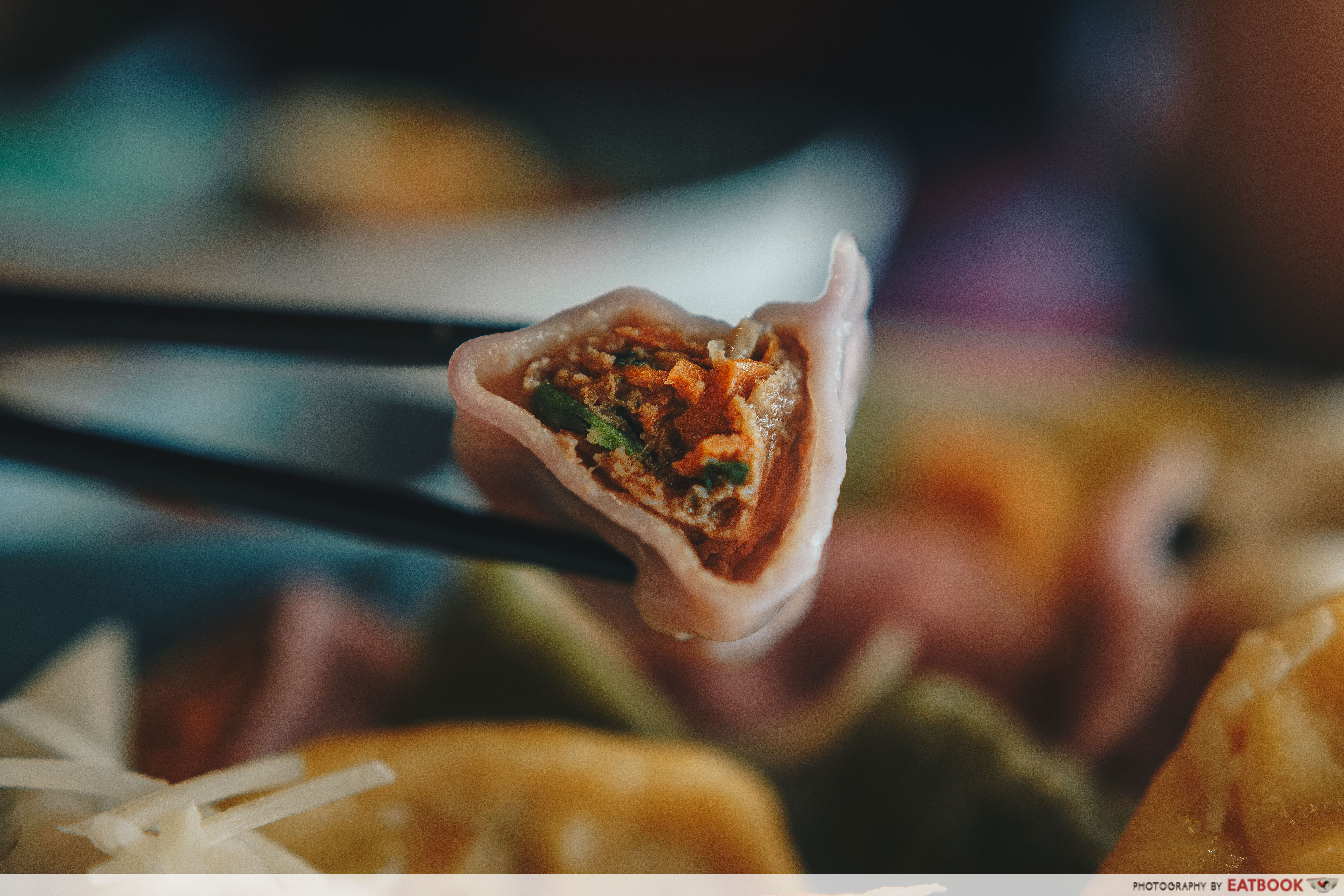 Dumplings Cafe - Violet Dumpling