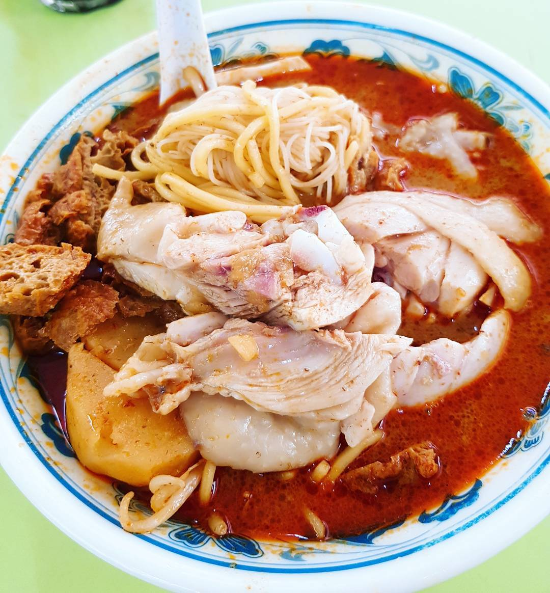 Hong Lim Food Centre - Heng Kee Curry Chicken Bee Hoon Mee