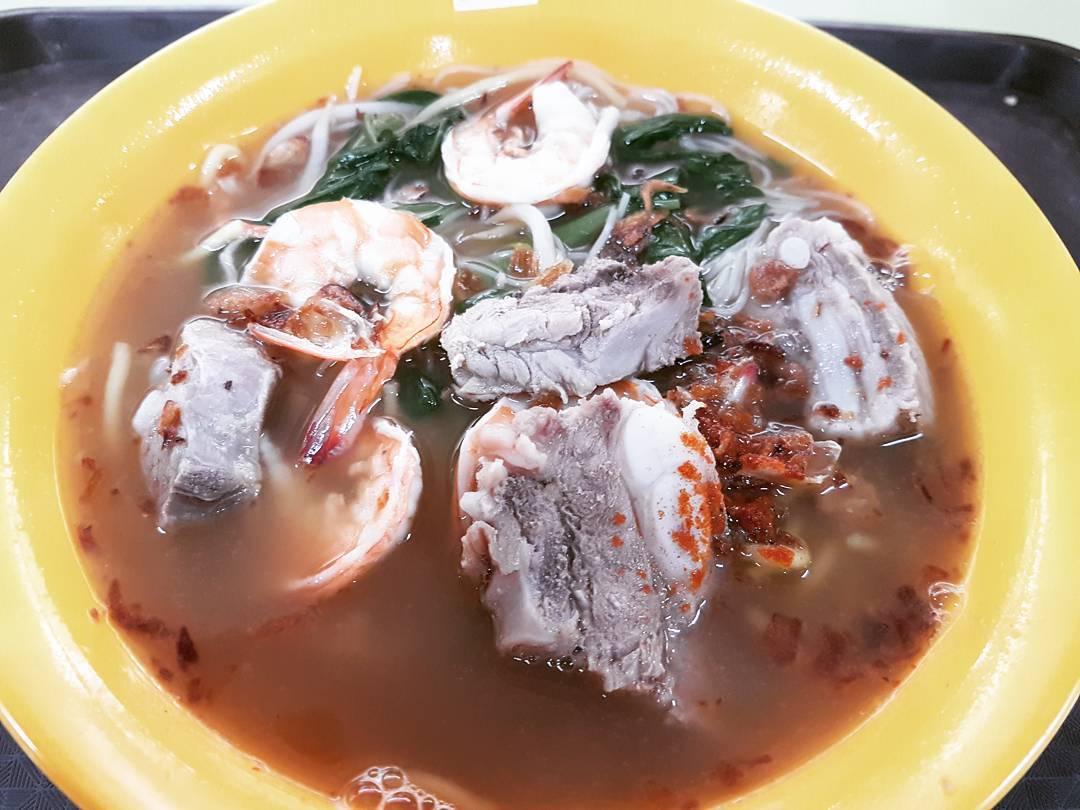 Hong Lim Food Centre - Hokkien Prawn noodles