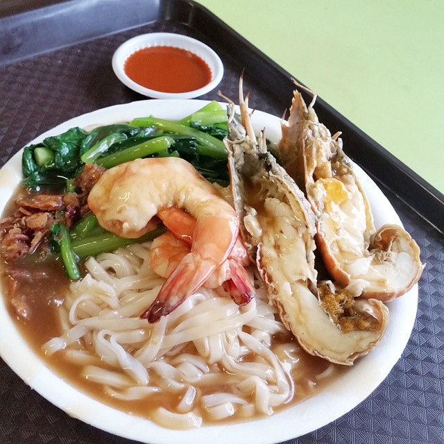 Hong Lim Food Centre - Tuk Kee (Ipoh) Sah Hor Fun