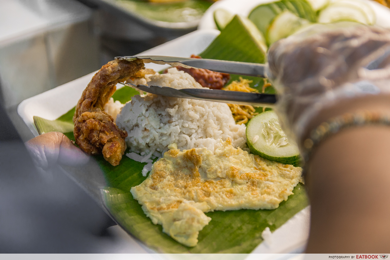 KR Banana Leaf - chicken wing