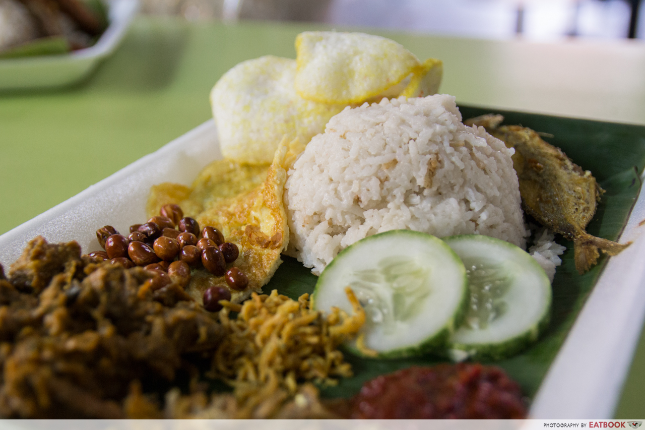 KR Banana Leaf - nasi lemak set