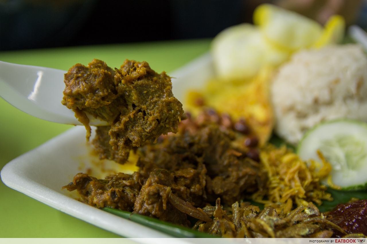 KR Banana Leaf - rendang