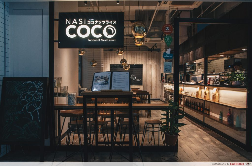 Nasi Coco - Stall front