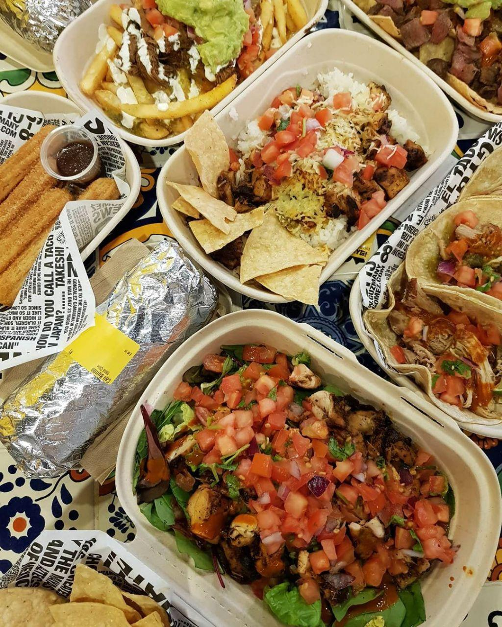 Guzman Y Gomez burritos and tacos