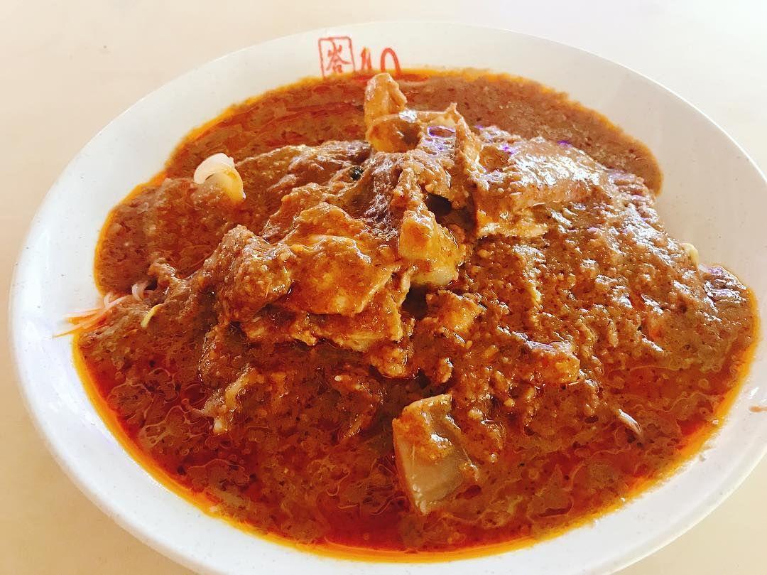Redhill Food Centre - Bak Kee Teochew Satay Beehoon