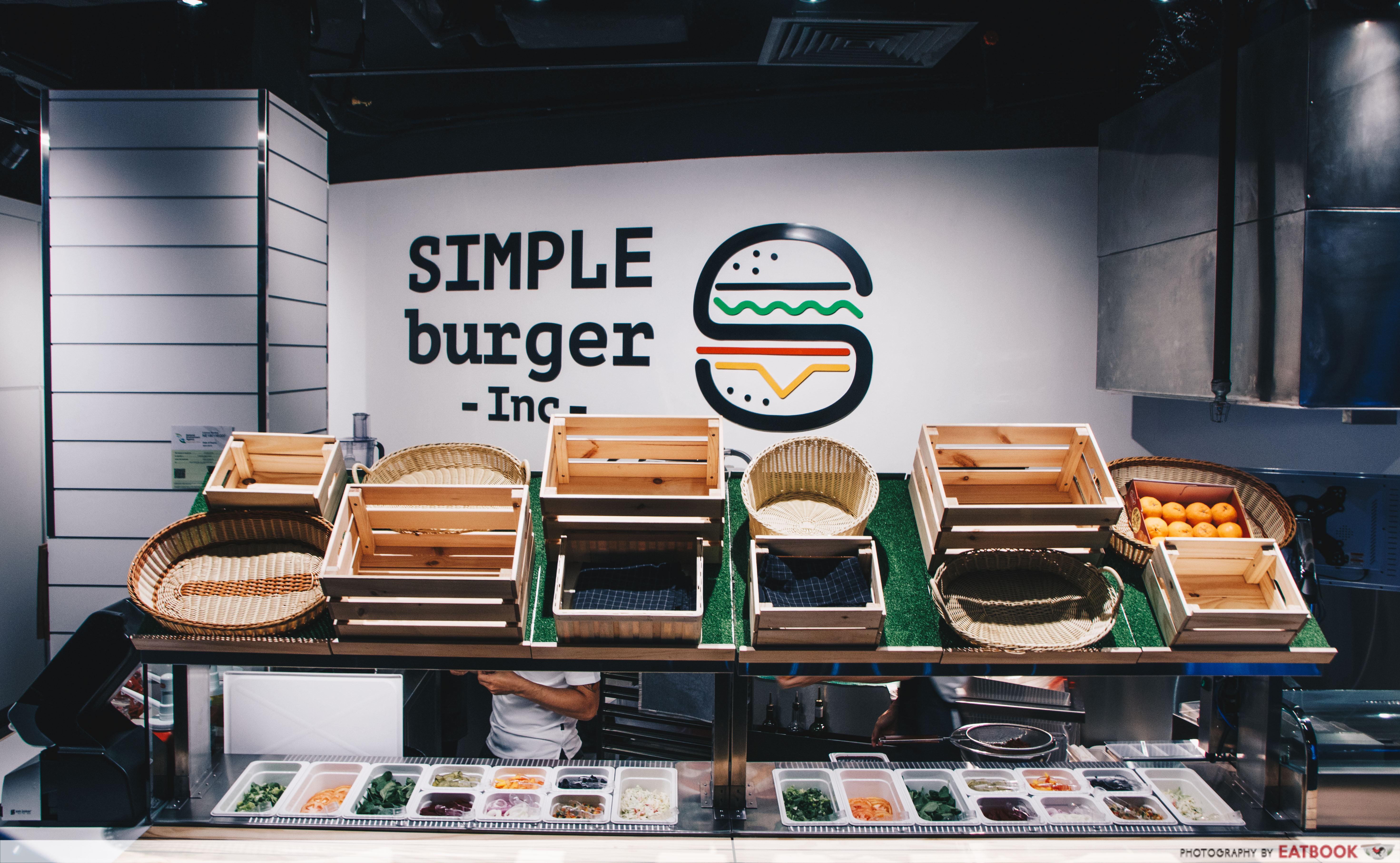 SIMPLEburger Inc. ambience