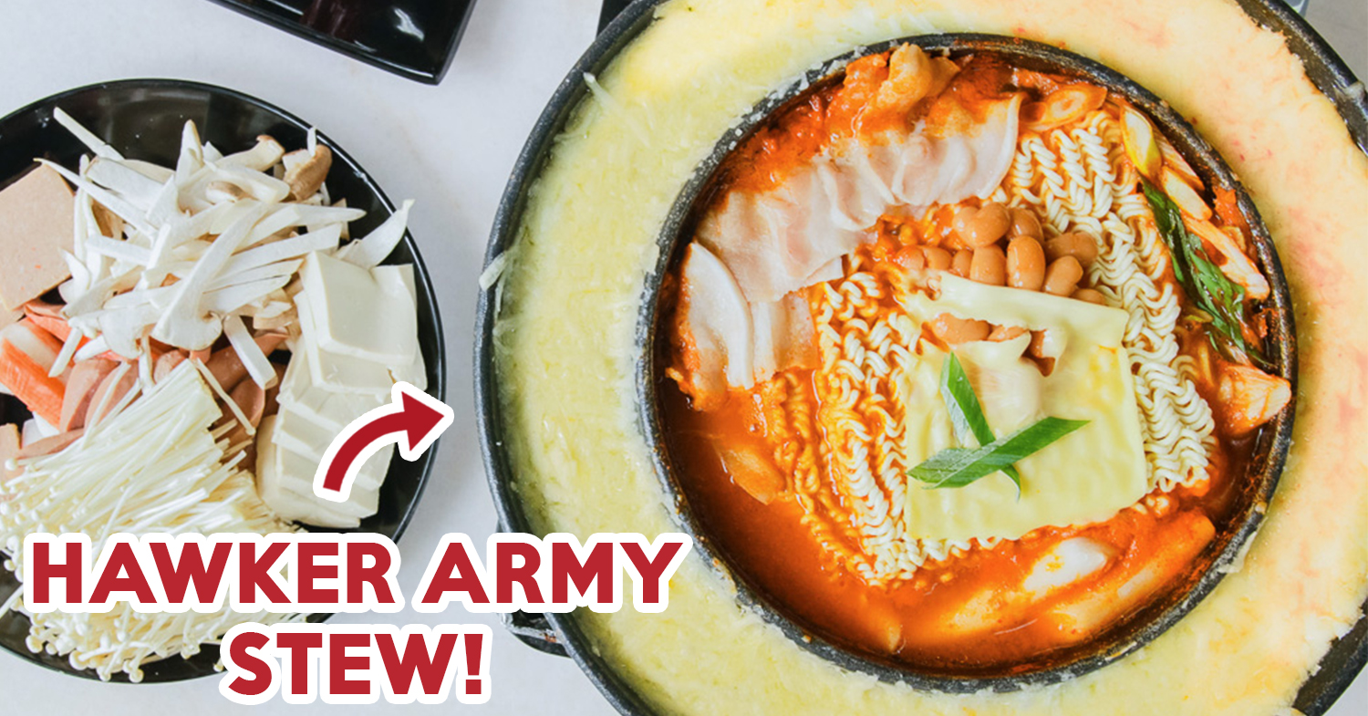 Seoul Shiok Review Hawker Korean Food Including Army Stew With