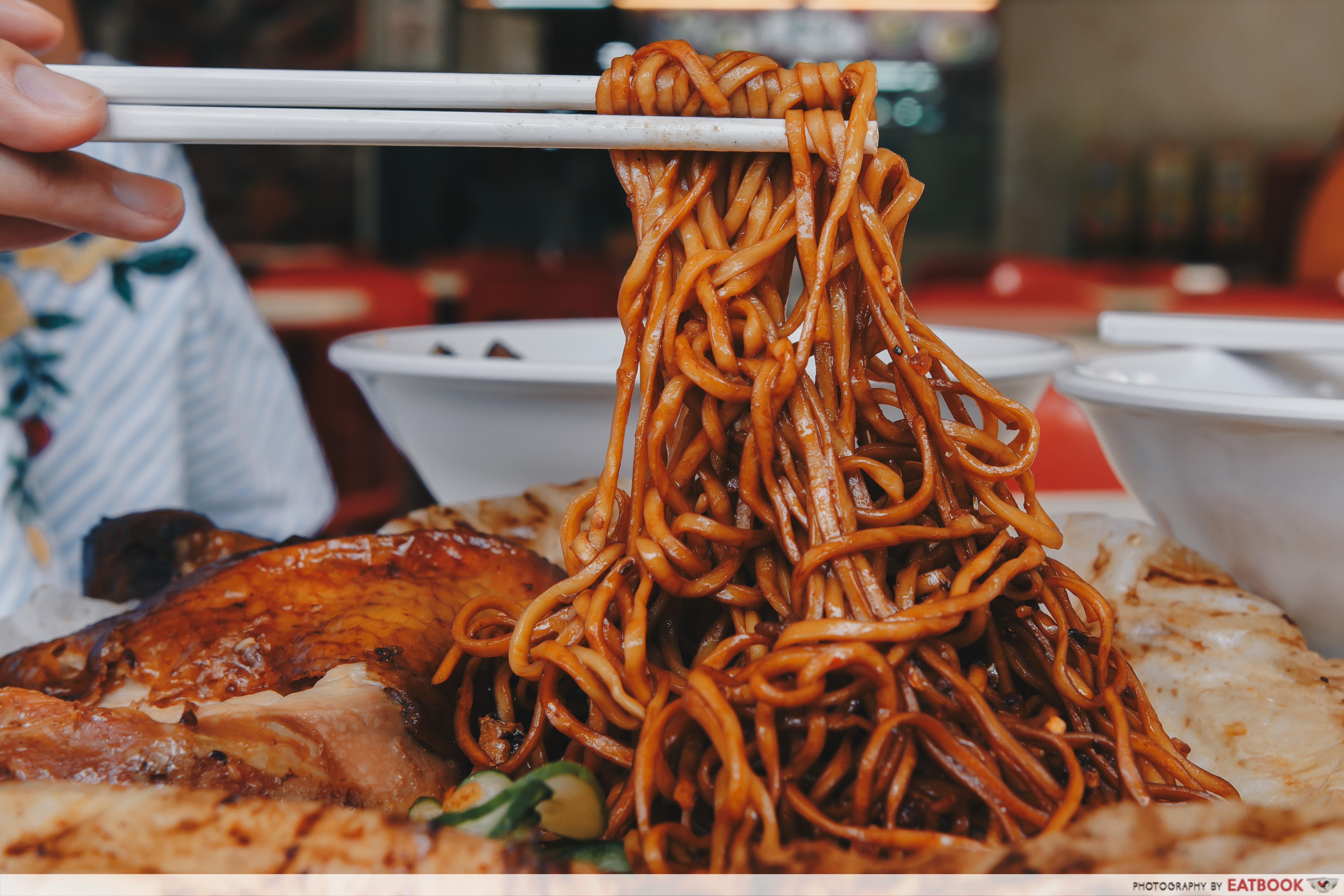 Sing HK Cafe - Noodles Close Up