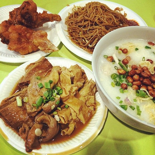 Telok Blangah Crescent Food Centre - Fei Lou Porridge