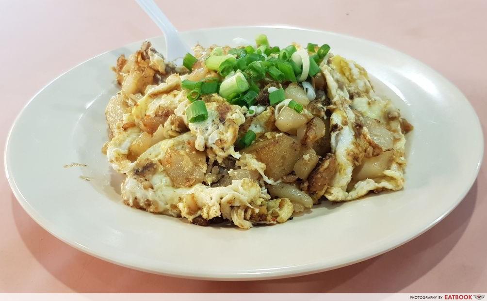 Telok Blangah Crescent Food Centre - Guan Seng Carrot Cake