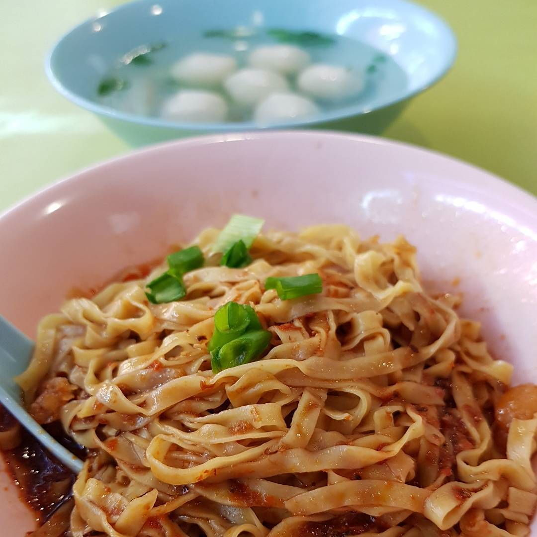 Telok Blangah Crescent Food Centre - Song Heng Fishball Noodles