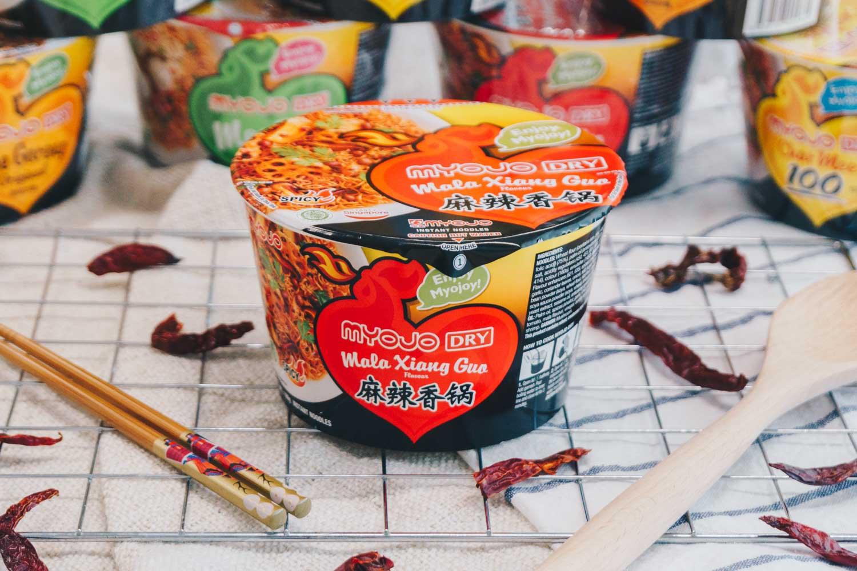 Unique Cup Noodles - MYOJO Mala Xiang Gup Bowl Noodles