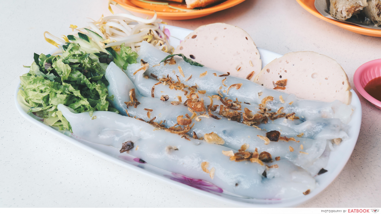 Vietnamese Favourites - Bánh Cuốn Chả Lụa (Stuffed Pancake)